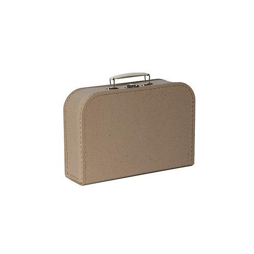 papírový kufřík velký přírodní