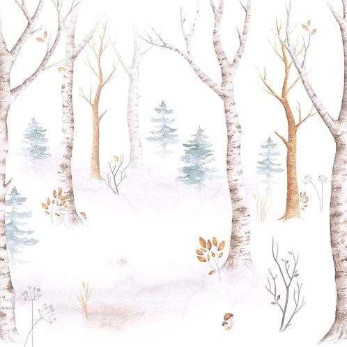 Tapeta les bez zvířátek