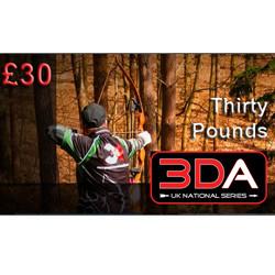 £30 3DA Voucher