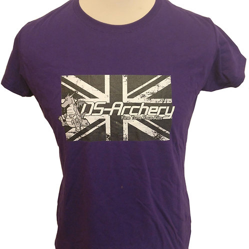 DS-Archery Black Union Jack T-Shirt