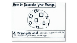 How to Decorate Your Orange