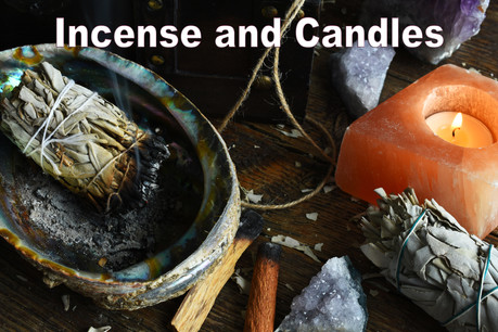 Buy Incense and Candles   Evolve Yourself UK