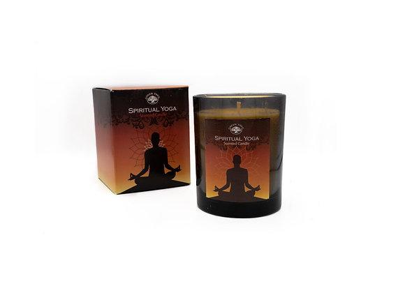Spiritual Yoga Scented Candle in Giftbox