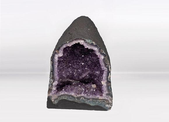 Tall Amethyst Crystal Geode Church 501 Premium Queen Grade
