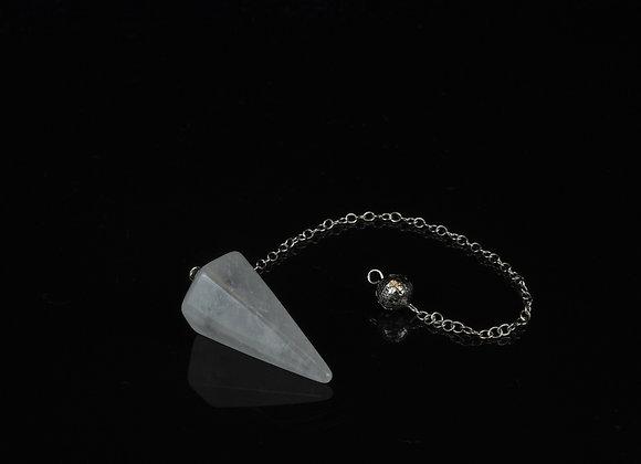 Clear Quartz High Polish Dousing Pendulum
