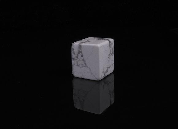 White Howlite Tumbled Stone