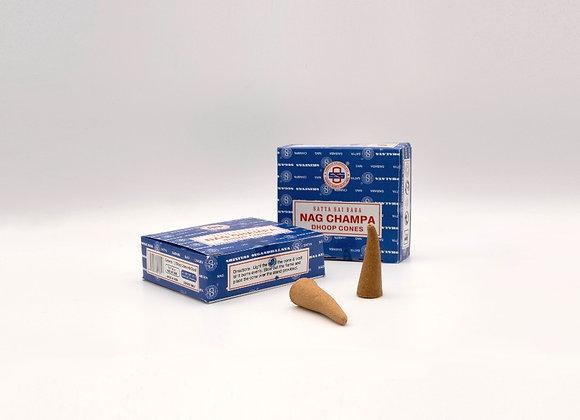 Nag Champa - Cones Incense (Satya)