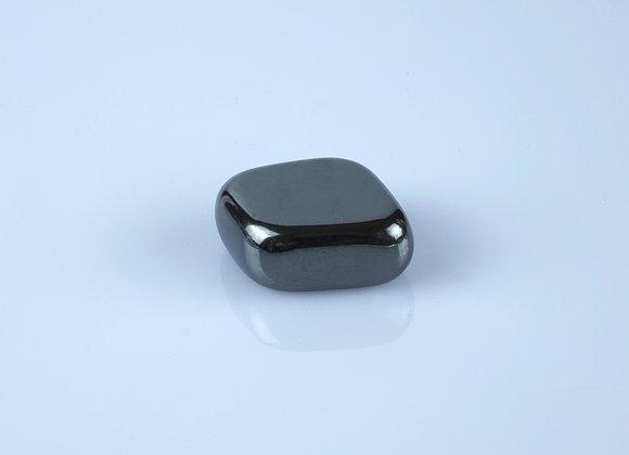 High Quality Aura Hematite Tumbled Stone