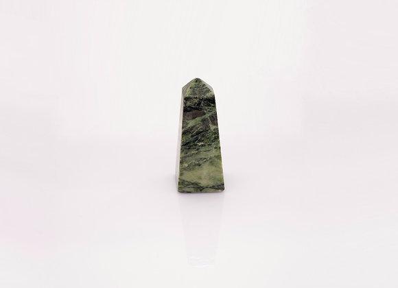 Polished Nephrite(Jade) Obelisk