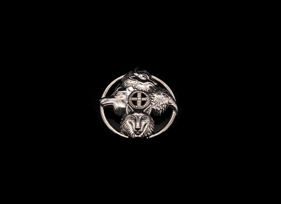Four Directions Pendant (Sterling Silver)