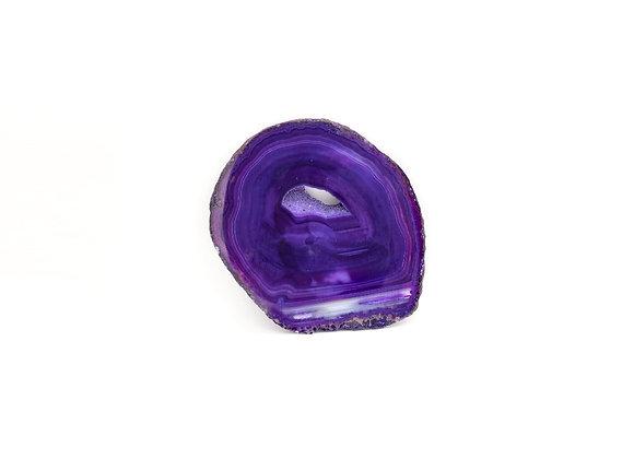 Large Purple Agate Slice