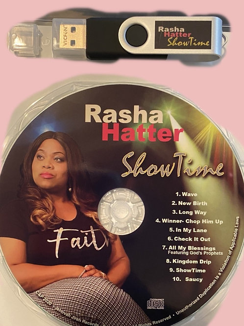 ShowTime CD & USB Drive with videos