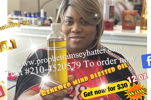 Renewed Mind Anointing Oil