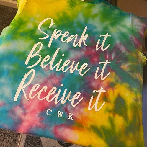 Speak it. Believe it.Recieve it.  4Her (SoulDyeEdition)