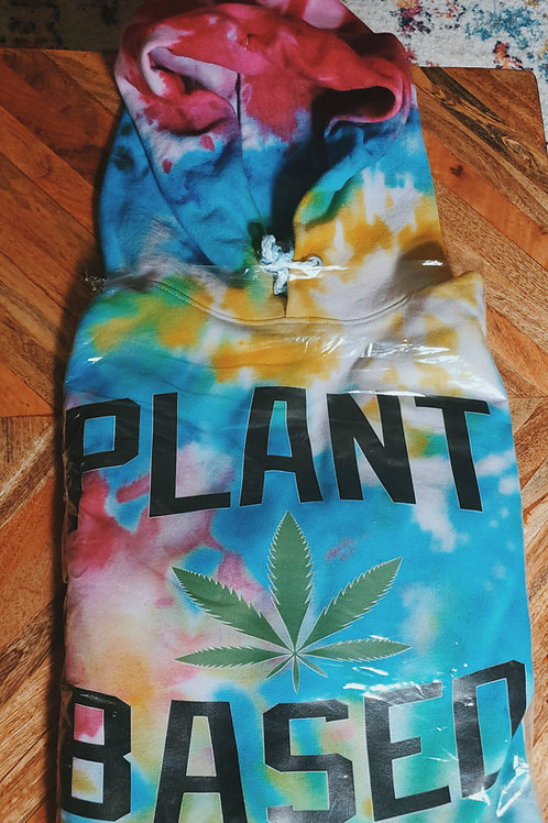Plant Based   Hippie Hoodie  Soul Dye *Customize your hoodie.