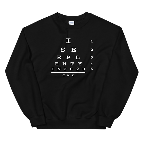 20/20 VISION  CWK SWEATER