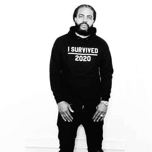 f I Survived Hoodie and Sweatshirt  (Black)