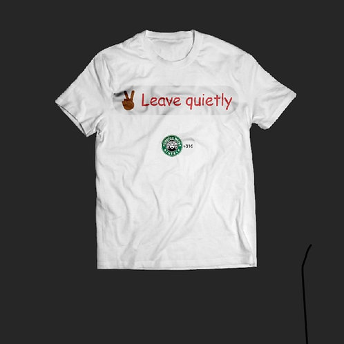 Leave Quietly Cwk Clubhouse Tee
