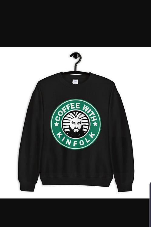CoffeewithKinfolk- Crewneck Sweater