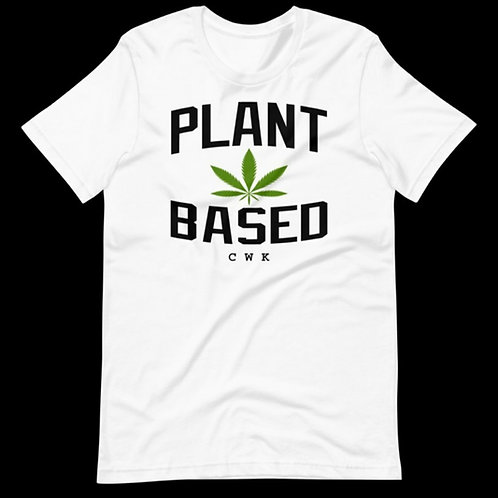 #PlantBased Icey White  Summer Tee