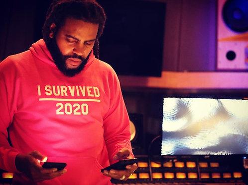 I  SURVIVED 2020 (flamingo) SWEATSHIRT & HOODIE
