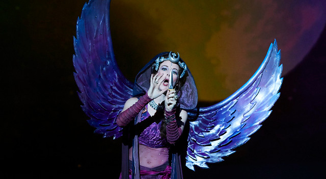 Queen of the Night in The Magic Flute