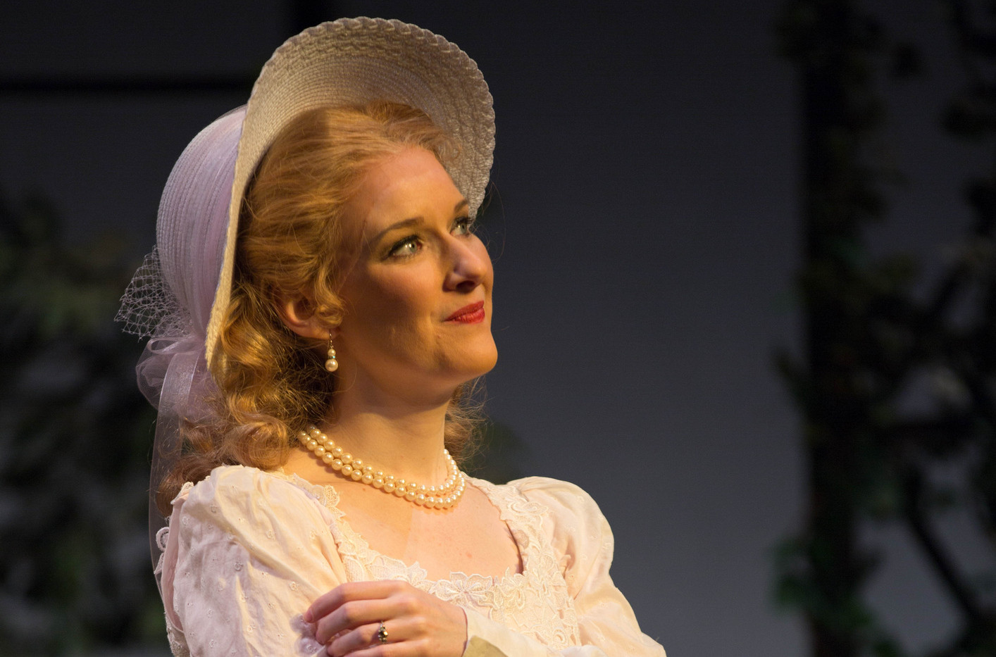 Cecily in The Importance of Being Earnest