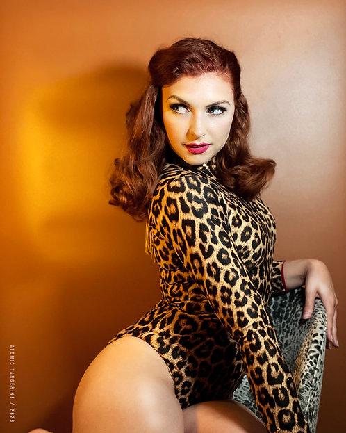 'Leopard Lady' by Atomic Tangerine