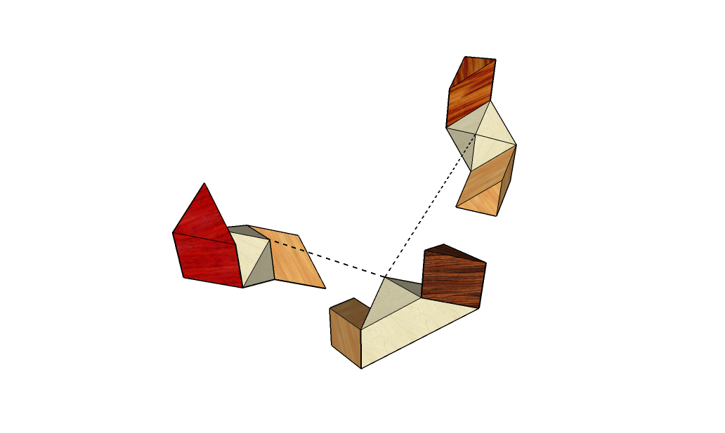 Four Corners Puzzle Solution - 002