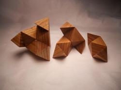 Diagonal Star Puzzle Solution