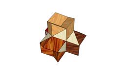 Four Corners Puzzle Solution - complete