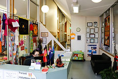 Day care centre reception