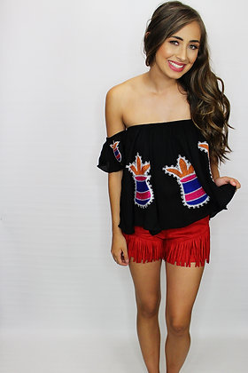 Turks And Caicos Off The Shoulder Top