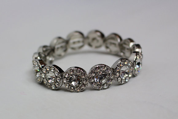 Cheers To Us Silver Bracelet