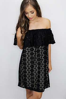 Lusting After Lace Dress