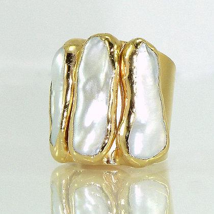 Biwa Freshwater Pearl Ring