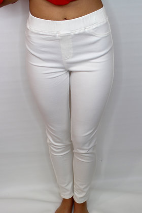 Essential White Jeggings