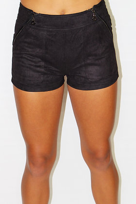 Carrie Suede Shorts