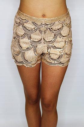 Champagne Night Shorts