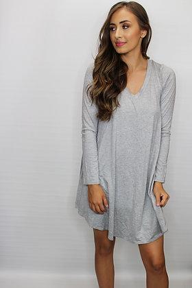Back To Basics Grey Dress
