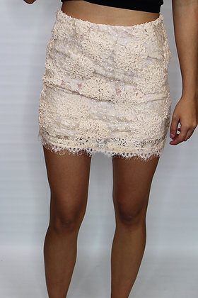 Class Act Lace Skirt