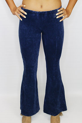 70's Vibes Navy Bell Bottoms