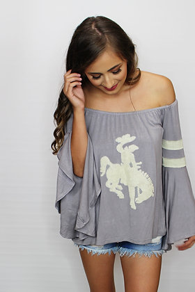 Cowboy Casanova Off The Shoulder Top