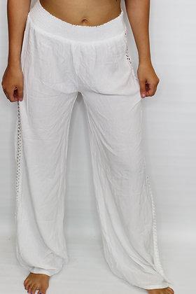 Seashells White Pant