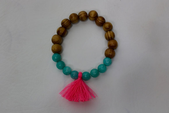 Ready For A Good Time Tassel Bracelet