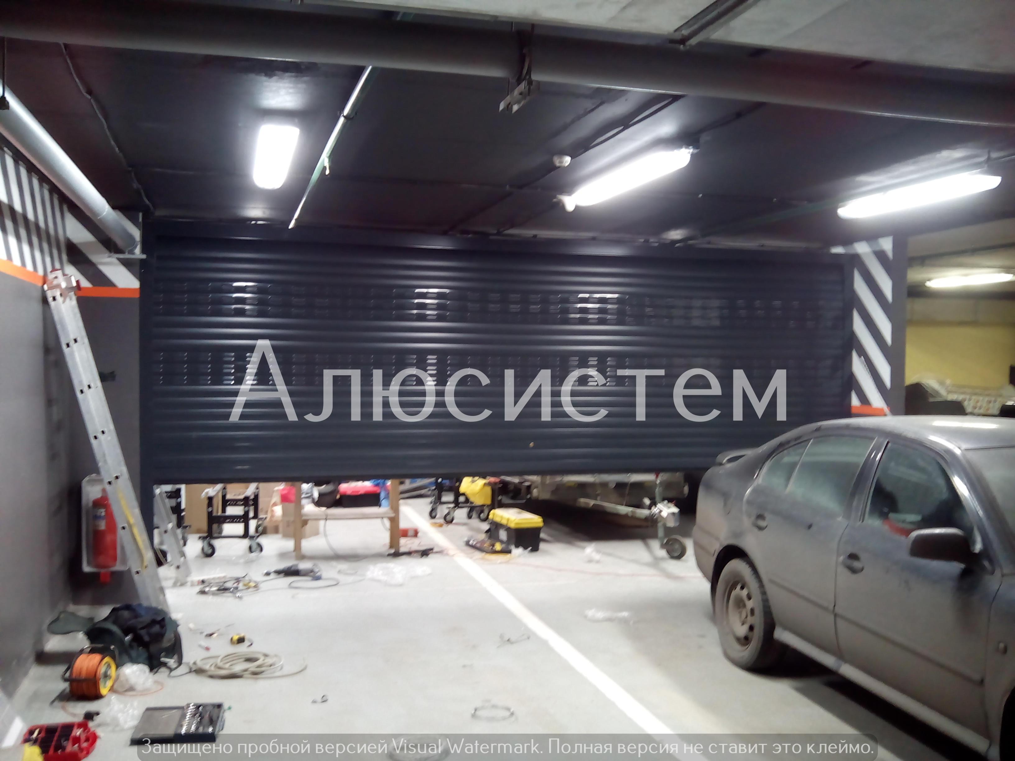 роллетные ворота ждановская