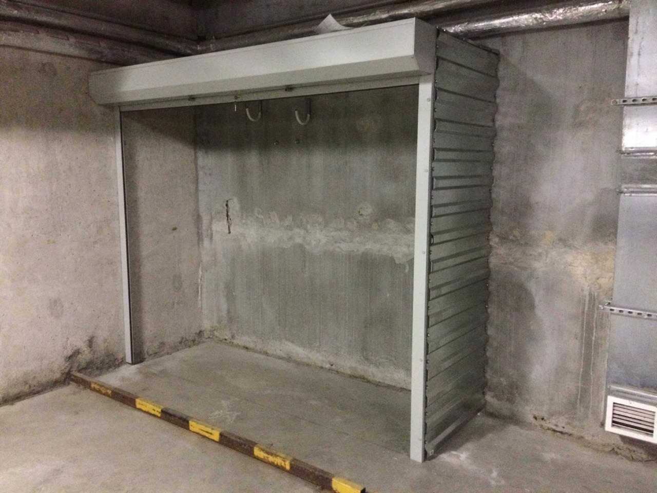 рольставни на шкаф в паркинг