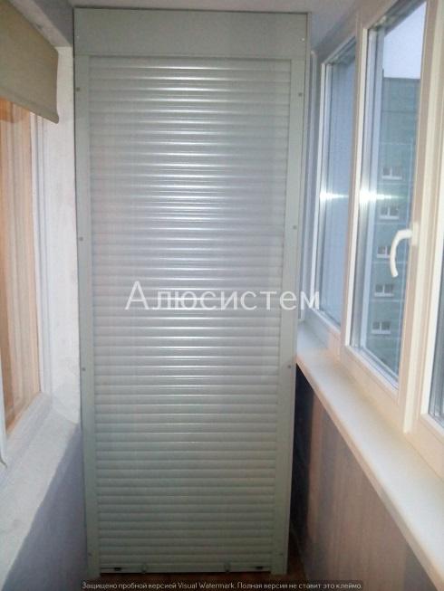 Роллета шкафа на балкон пр. Просвещения