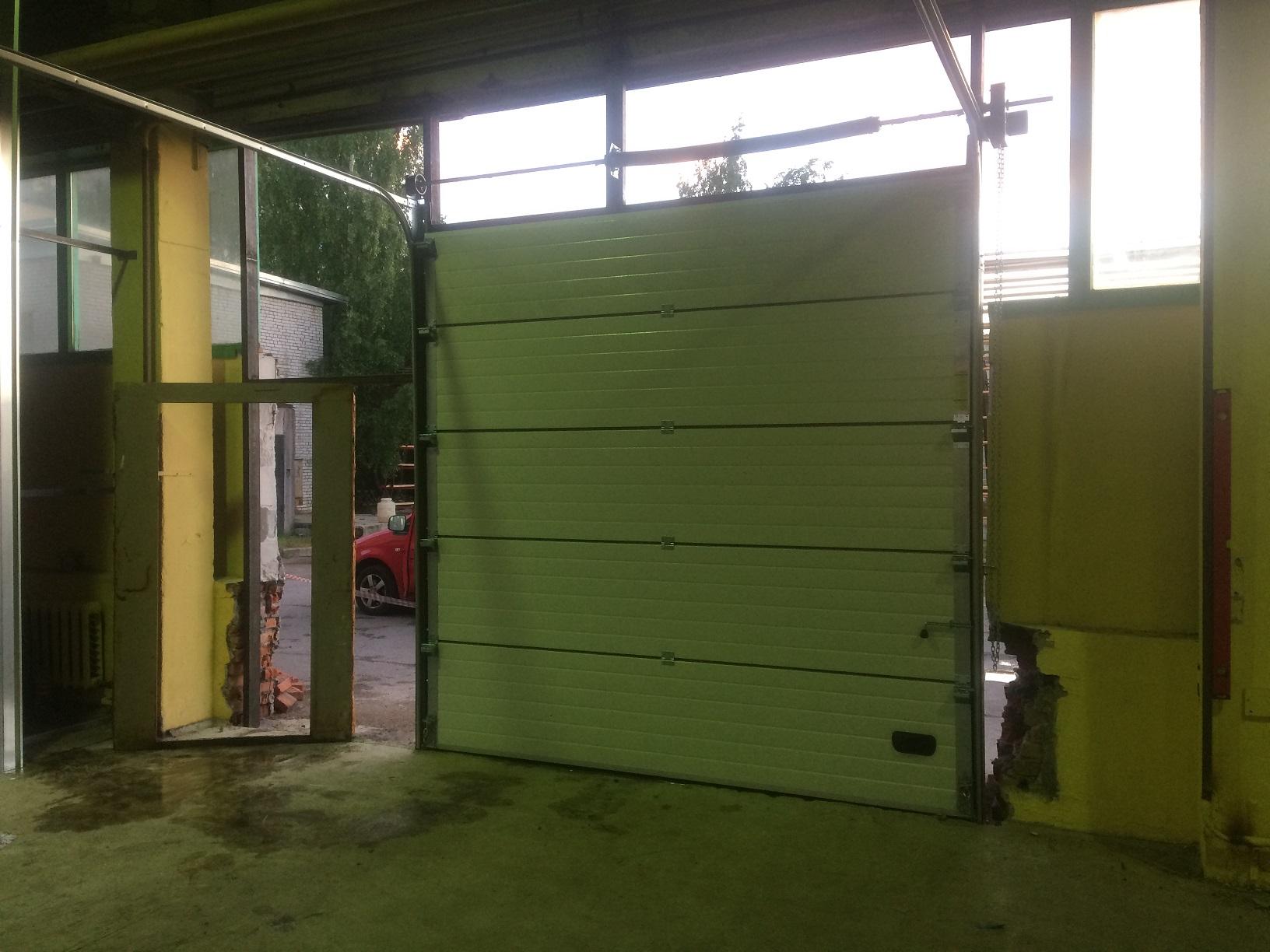промышленные ворота Ритерна