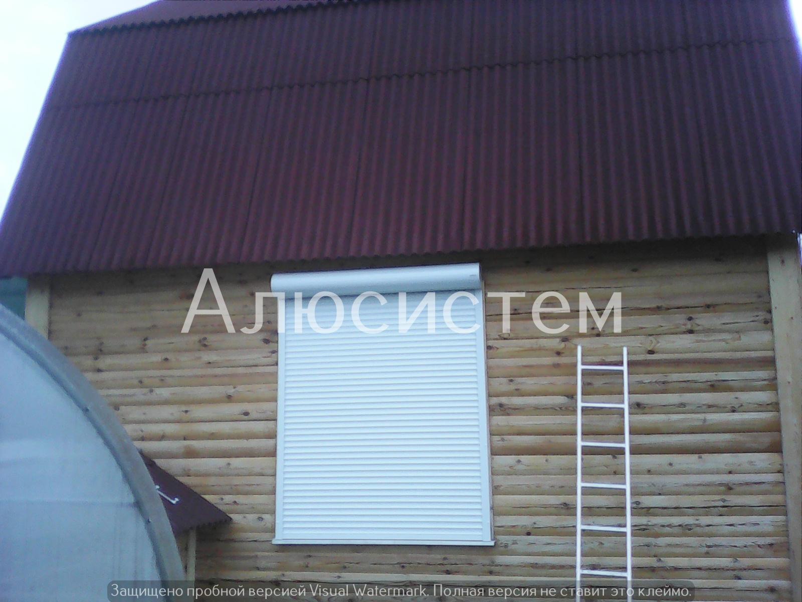 Рольставни на окно автоматические